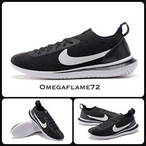 wholesale dealer bf0ea a3e14 Details about Nike Cortez Flyknit QS, Black & White AA2029-001, UK 11, EU  46, US 12