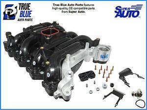 Super-Auto-Intake-Manifold-615-178X-W-Thermostat-Gaskets-Screws-And-Brakets