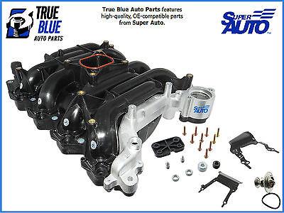Super Auto Intake Manifold 615-178X W/ Thermostat, Gaskets, Screws And Brakets