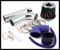 97-03 S-10/sonoma/hombre 2.2l Cold Air Intake System W/ Filter - Blue