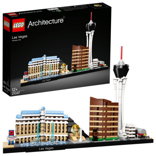 LEGO 21047 Architecture Las Vegas W//omandalay Bay Resort Casino n9//18