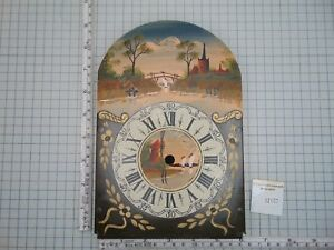 HAND-PAINTED-DIAL-FOR-SCHIPPERTJE-WALL-CLOCK-NO-MOON