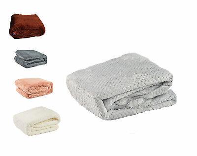 Tagesdecke Wohndecke Decke Kuscheldecke 160x200, 220x200 Mikrofaser Grau Braun Rohstoffe Sind Ohne EinschräNkung VerfüGbar