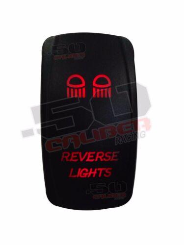 Reverse Lights Rocker Switch Red fits Ranger RZR Maverick Commander Viking Teryx