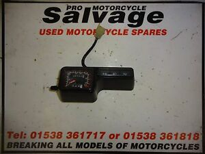Details about HONDA XR 125 L 2003 - 2013:CLOCKS SPEEDO:USED MOTORCYCLE PARTS