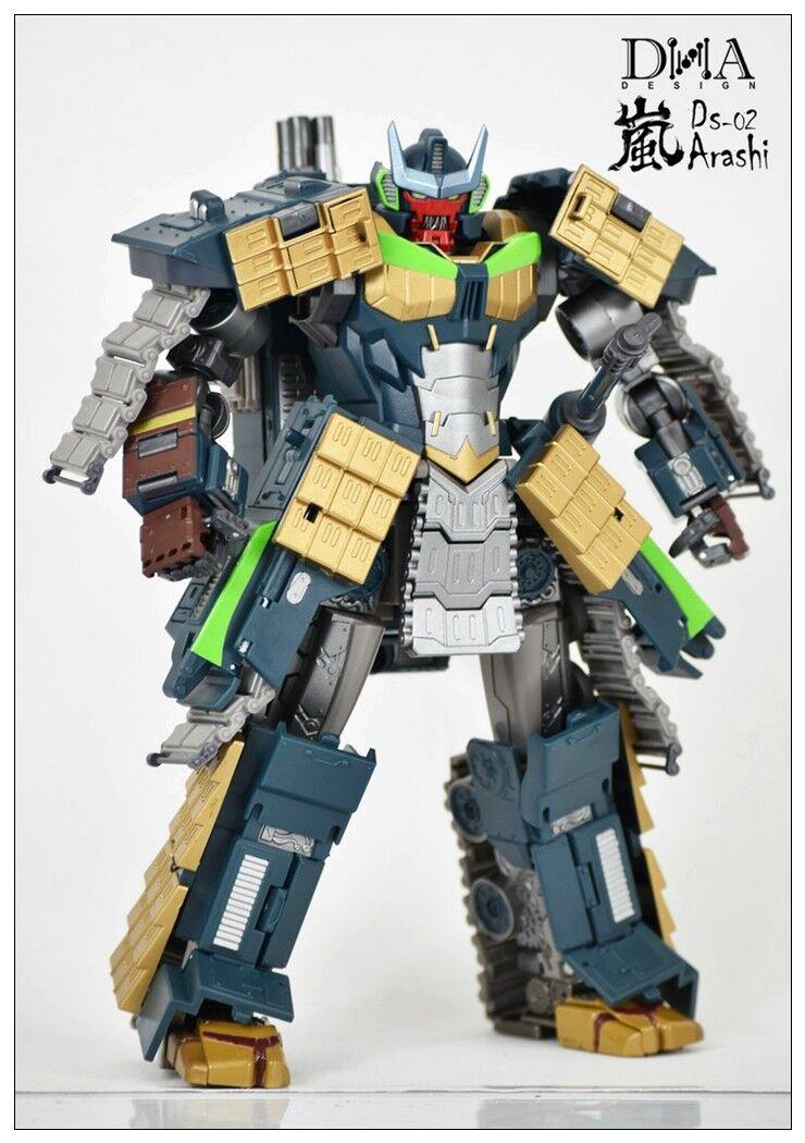 Nuevo juguete de Transformers DNA DS-02 Arashi Susanoo Pintar Figura de versión de reparación