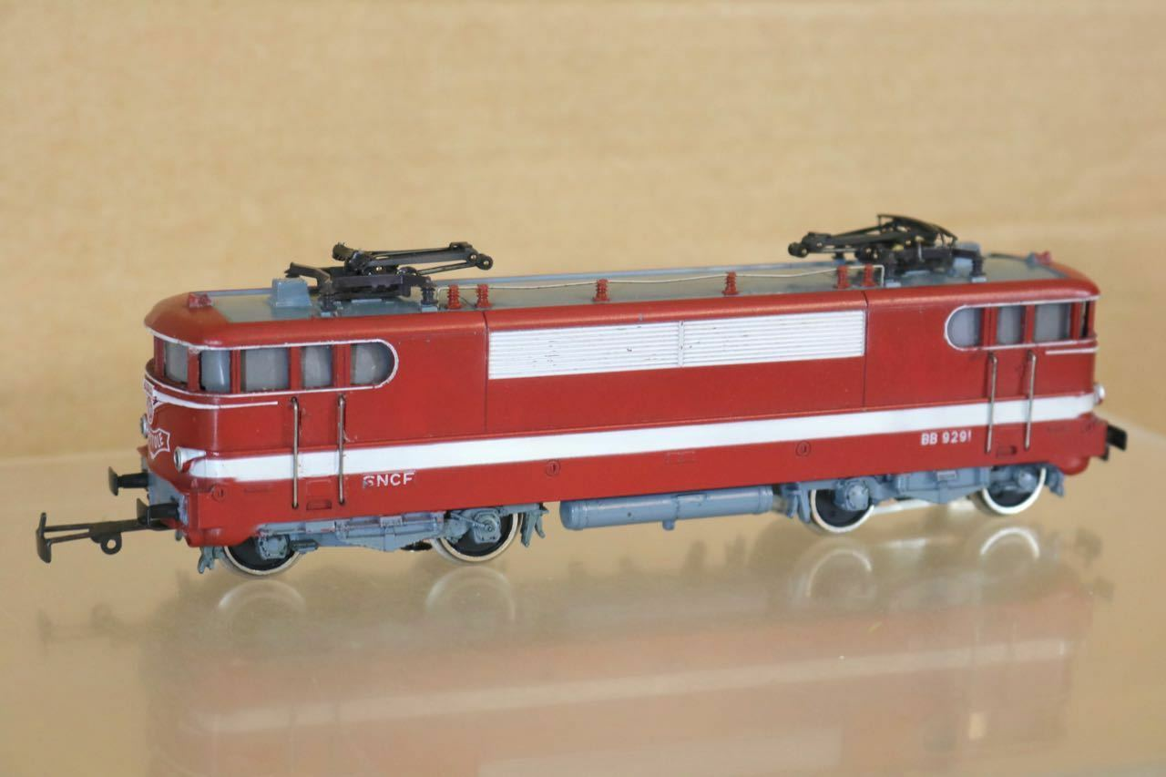 MARKLIN MÄRKLIN HAMO 8359 SNCF RED CLASS BB 9291 CAPITOLE E-LOK LOCOMOTIVE nr