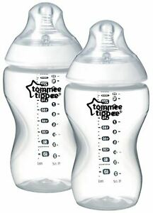 Tommee-Tippee-CLOSER-TO-NATURE-BOTTLE-340ML-X2-Baby-Feeding-BN