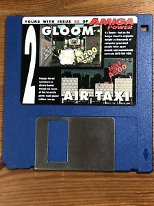 Amiga-Power-Magazine-cover-disk-52-Gloom-Air-Taxi-TESTED-WORKING