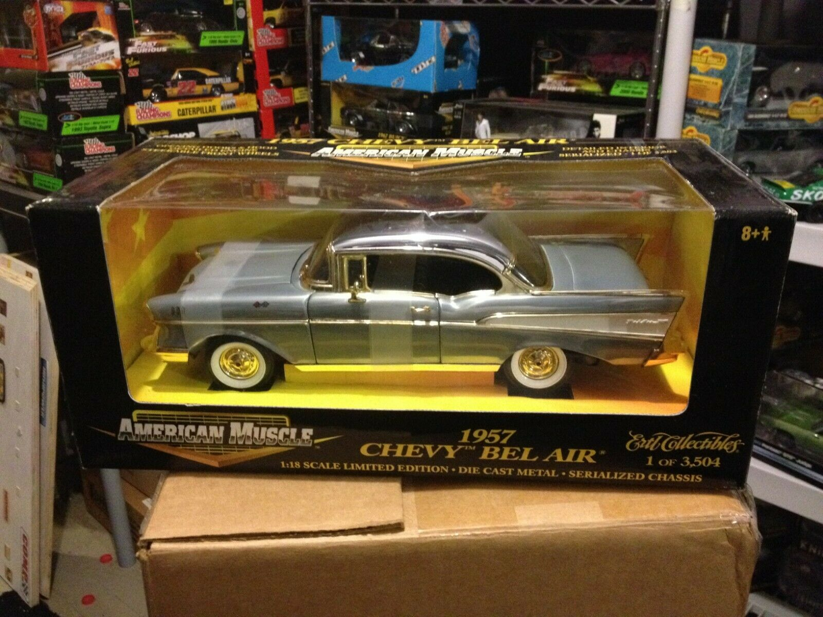 el precio más bajo 1957 CHEVY BEL AIR 1 18 18 18 CHROME BARE METAL QVC EXCL 1 3504  Ertl Diecast   32526  Mejor precio