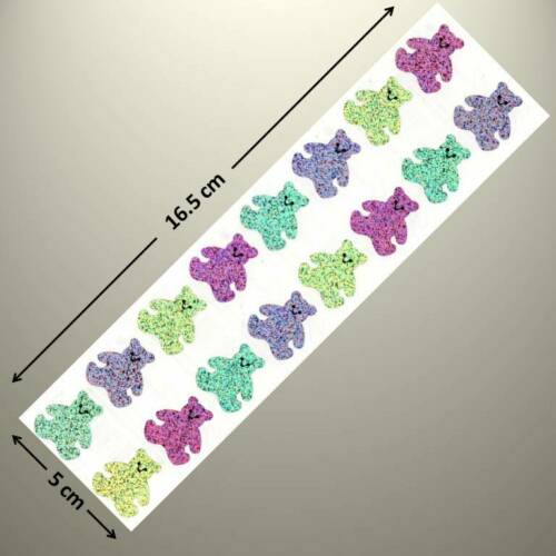 up to 20/% OFF Mrs Grossman/'s Sticker PASTEL BEARS SPARKLE See My List!!!