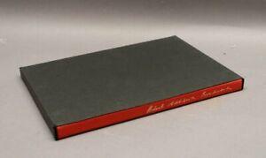 Herbert Achternbusch - Breitenbach 1986 mit original Farbserigraphie nummeriert