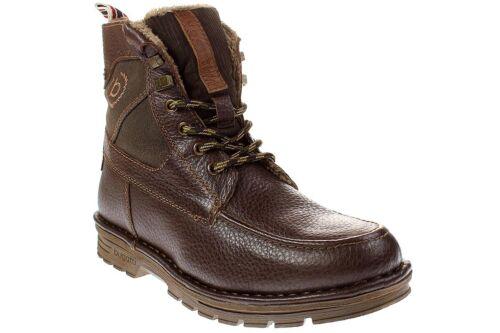 bugatti PHANTOM - Herren Schnürschuhe Boots - 321-34950-2269 -6161-dark-brown