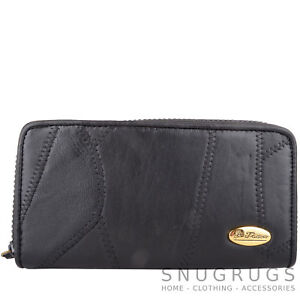 Ladies Coin Holder Womens Money Girls Large RFID Faux Leather Purse