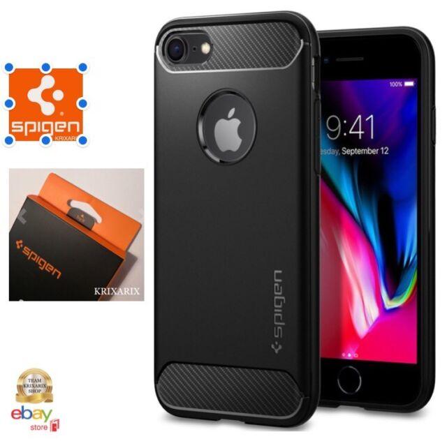 Spigen Custodia Cover iPhone 7 / 8 con Cuscini d'aria in TPU ...
