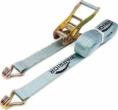Polyester Maximum Load 5000kg Professional Set of Ratchet Straps with Trailer Belt Attachment Yellow