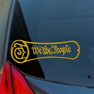 We-the-People-Constitution-scroll-vinyl-sticker-decal-liberty-freedom-1776-1789