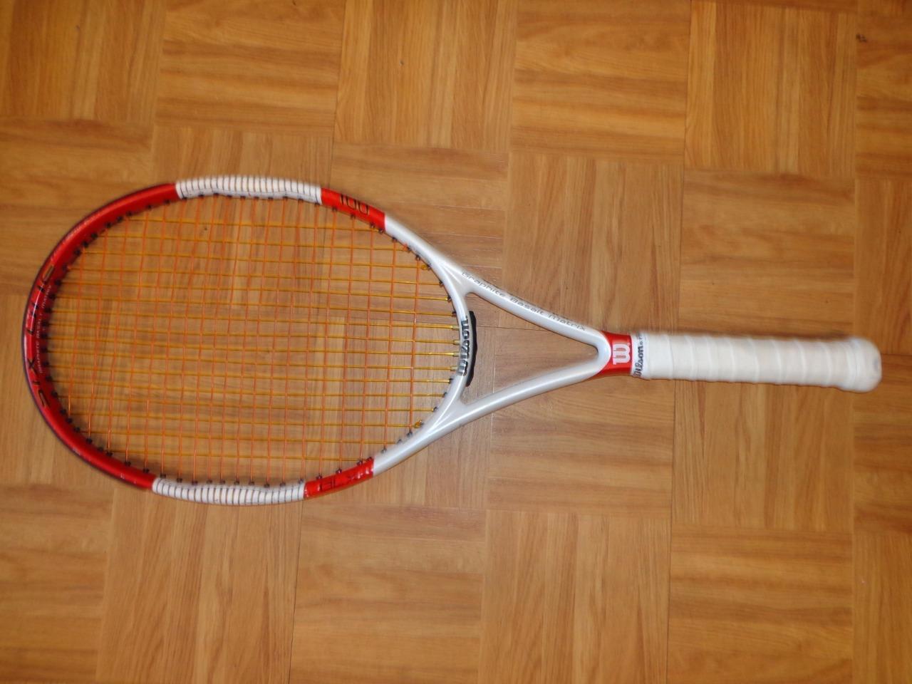 Wilson Six-One 100 TEAM 9.4oz 4 1 4 grip Tennis Racquet