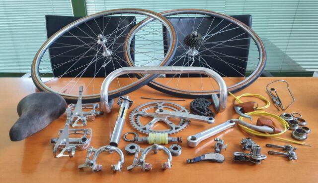 ZEUS CRITERIUM groupset vintage road bike UNIVERSAL VGC