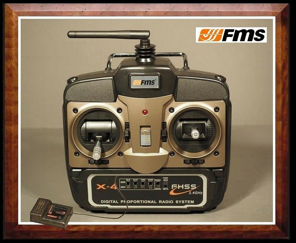 FMS Digital 4 Ch 2.4 GHZ Radio