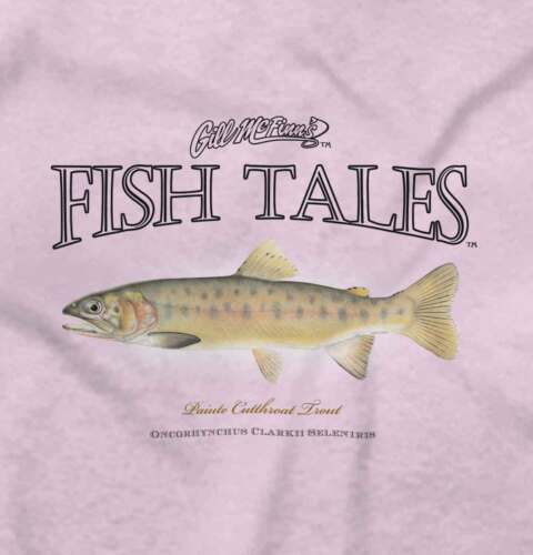 Fish Tale Cutthroat Trout Fishing ShirtSporting Goods Gift Romper Bodysuit