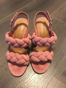 6e2e20865dd Image is loading Rebecca-minkoff-Candace-Braided-Sandals-Size-5