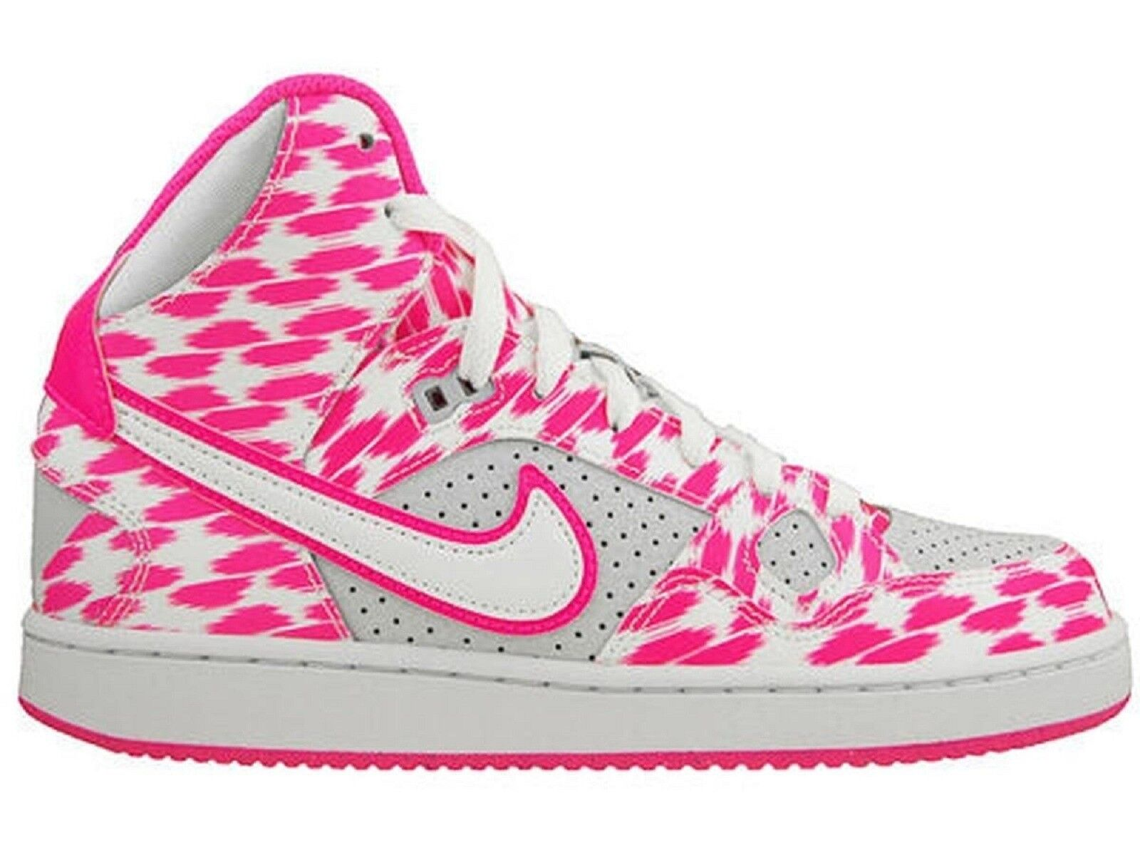 NIKE SON OF FORCE MID 001 PRINT GS Damenschuhe 725138 001 MID WEISS PINK woman bianco rosa 82eb0d