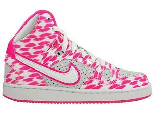 size 40 7c7e6 d4514 Image is loading Nike-Son-of-Force-Mid-Print-GS-Womens-
