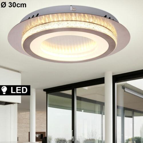 Design LED Decken Lampe Kristall-Optik Leuchte Beleuchtung Ess Zimmer Küche 30cm