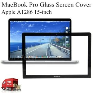 "NEW front LCD Glass screen for Apple Macbook pro 15/"" A1286"