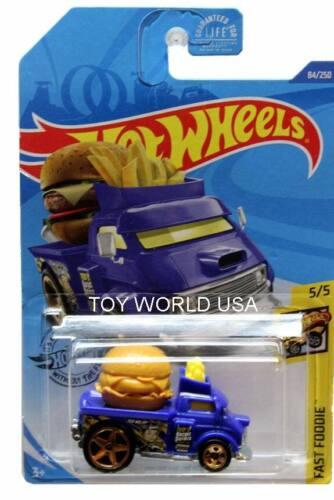 2020 Hot Wheels #84 Fast Foodie Buns of Steel Treasure Hunt