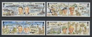 Isle-of-Man-1994-Anniversary-of-D-Day-set-MNH-SG-606-13