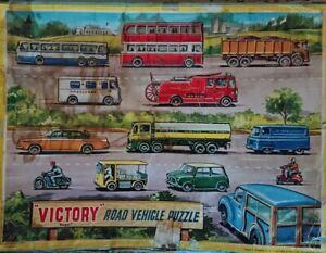 VINTAGE-VICTORY-Road-Veicolo-Puzzle-in-legno