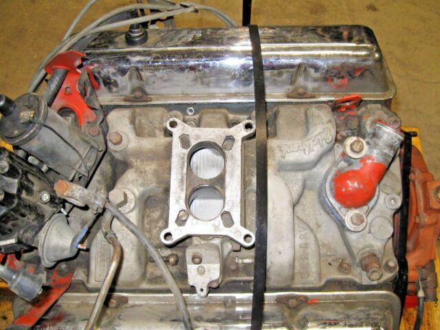 1968 Chevrolet Chevelle 307 Engine Runs Good Suffix Code T0520df