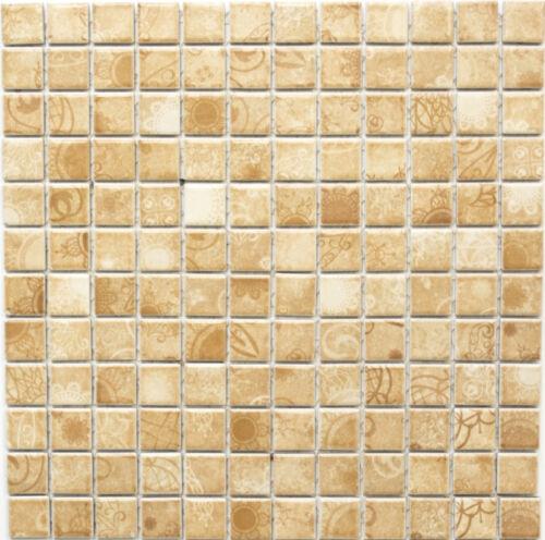 Mosaik Laceo Beige Fliesenspiegel Küche Wandverkleidung Art:18D-141210 Matten