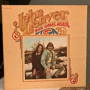 """JOHN DENVER - Back Home Again (CPL1-0548) - 12"""" Vinyl Record LP - VG+"""