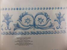 Elegance Scroll Border Stencil Decor Wall Art