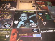 JOHN COLTRANE GIANT STEPS COLLECTION OF RARE 45 RPM Sealed 180+ GRAM SETS 22 LPS