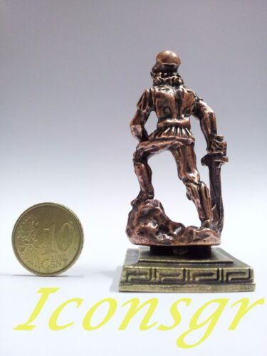 Ancient Greek Miniatures Olympian Gods Pantheon Sculpture Statue Zamac Set 3 pcs