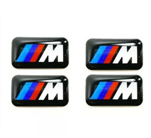 4x-BMW-M-Sport-Performance-Alloy-Wheel-Stickers-Decals-Badge-Gel-Gloss-domed-3d