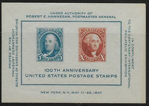 US-Scott-948-Souvenir-Sheet-1947-CIPEX-VF-MNH