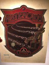 Vintage Retro, Tshirt Heat Transfer, Atari Asteroids, One Of A Kind