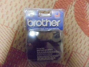 COMPATIBLE BROTHER AX-130 ELECTRONIC*CORRECTABLE FILM RIBBON+LIFT OFF TAPE COMBO