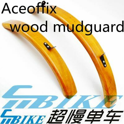 ACE Ultralight Carbon Mudguards Fenders for Brompton Bicycle L R Type