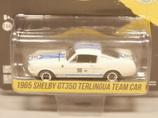 Greenlight 1:64 1965 Shelby GT350 Terlingua Team Car 98BP GREEN MACHINE
