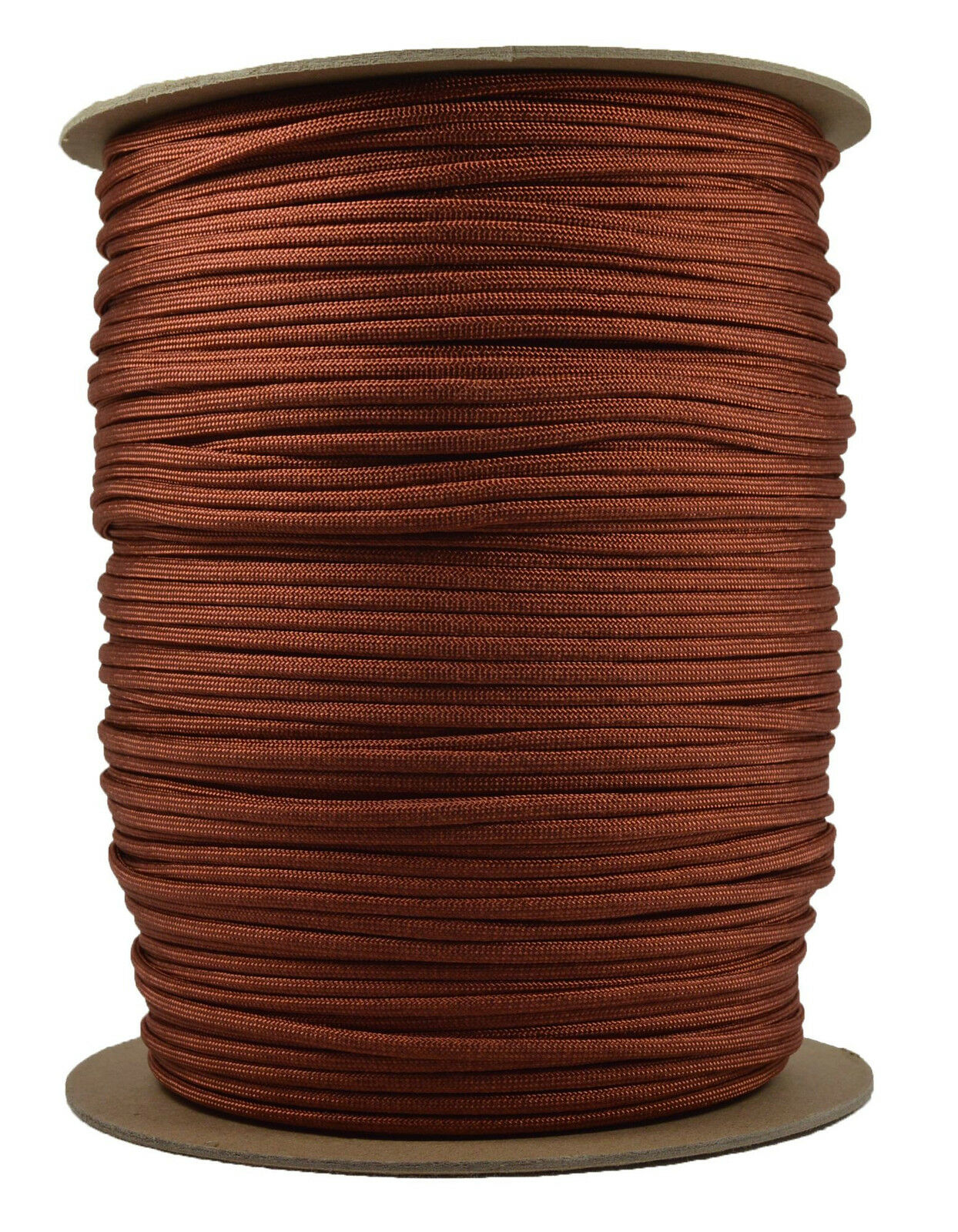 Rust  550 Paracord Rope 7 strand Parachute Cord  1000 Foot Spool