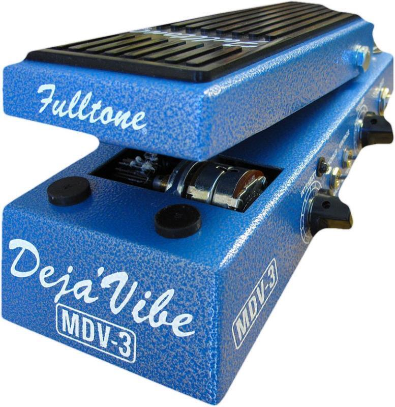 Fulltone Custom Shop MDV-3 Mini Deja Vibe Uni-Vibe Foot Pedal