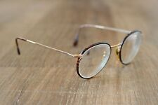 Vintage Giorgio Armani 112 732 Round Tortoise Eyeglasses Frames 51-22 145 Italy