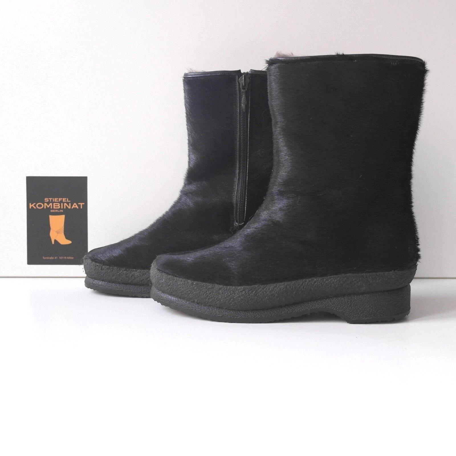 Stivali Pelliccia Stivali Stivali 70er True Vintage Pelliccia Stivali Pelliccia invernali Yeti Boots 213d68