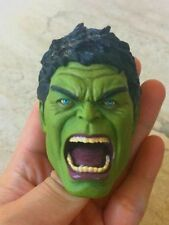 1/6  Handmade panit Hulk Avengers Age Of Ultron head sculpt Fit hot toys figure